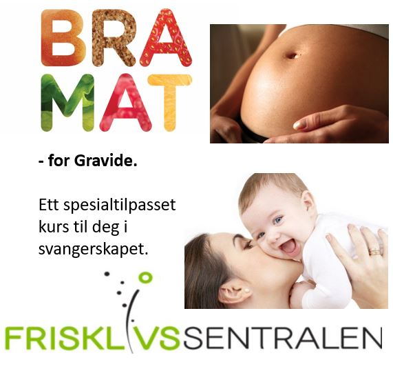Plakat for bra-mat-kurs for gravide